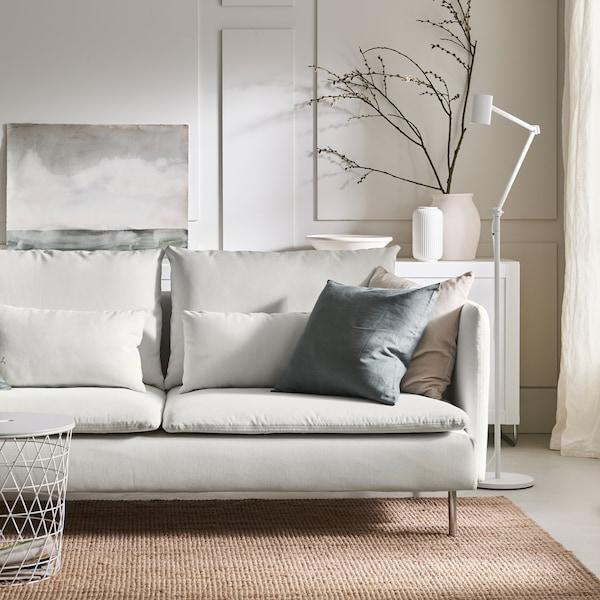 A planner to help customise a SÖDERHAMN sofa.