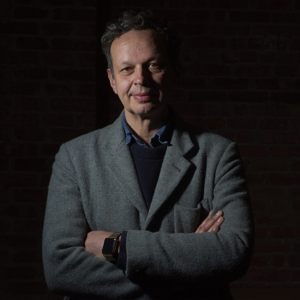 A portrait of designer Tom Dixon.