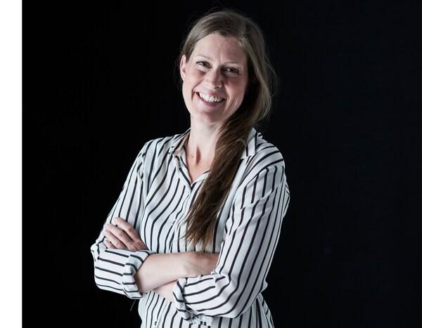 A portrait of Elin Stierna, an interior designer at IKEA.