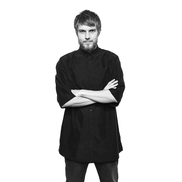 A portrait of IKEA designer Henrik Preutz.