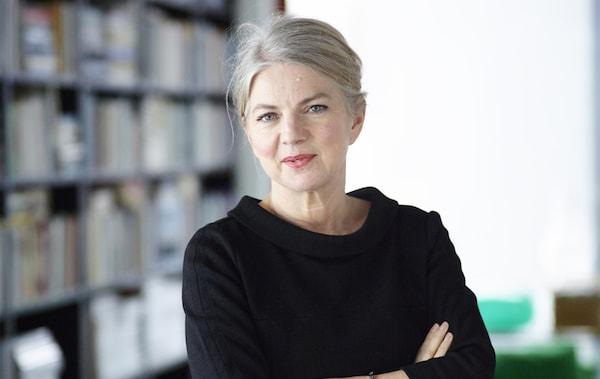 A portrait of IKEA Interior Designer, Annette Ydholm.