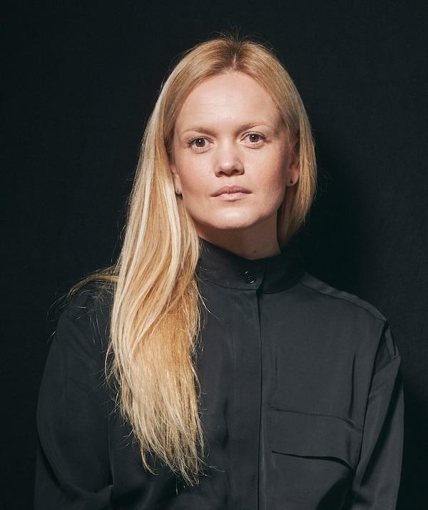 A portrait of IKEA interior designer Kristina Pospelova.
