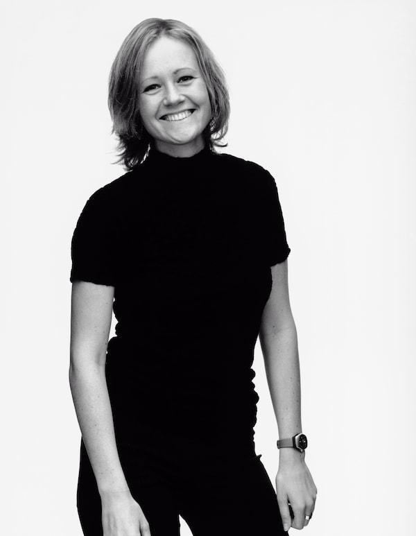 A portrait of Monika Mulder.