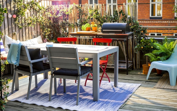 Awesome Balcony Living Ikea Gmtry Best Dining Table And Chair Ideas Images Gmtryco