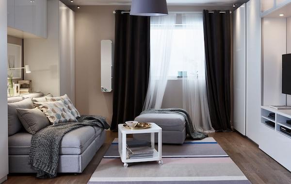 A living room made for 24-hour living - IKEA