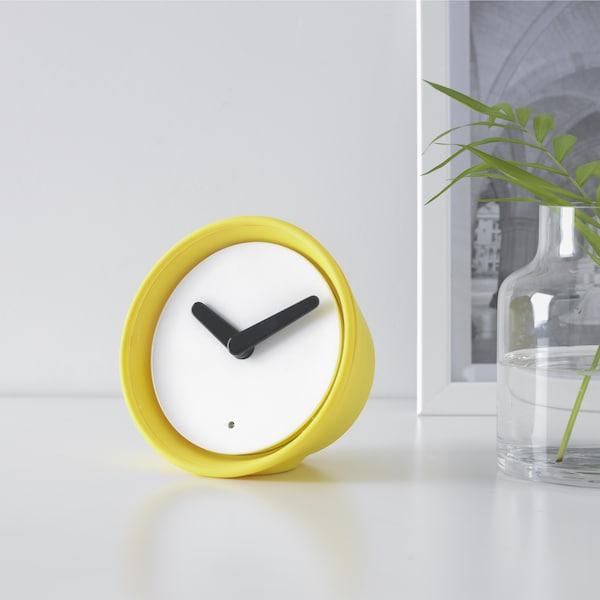 Ikea STOLPA Wall Clock Silent Quartz Movement Analogue Stylish Look Round Shape