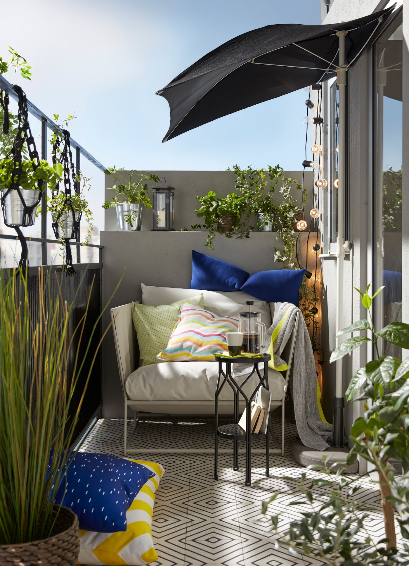 Arredare Il Balcone Ikea softer ways to enjoy the sunshine | ikea singapore - ikea