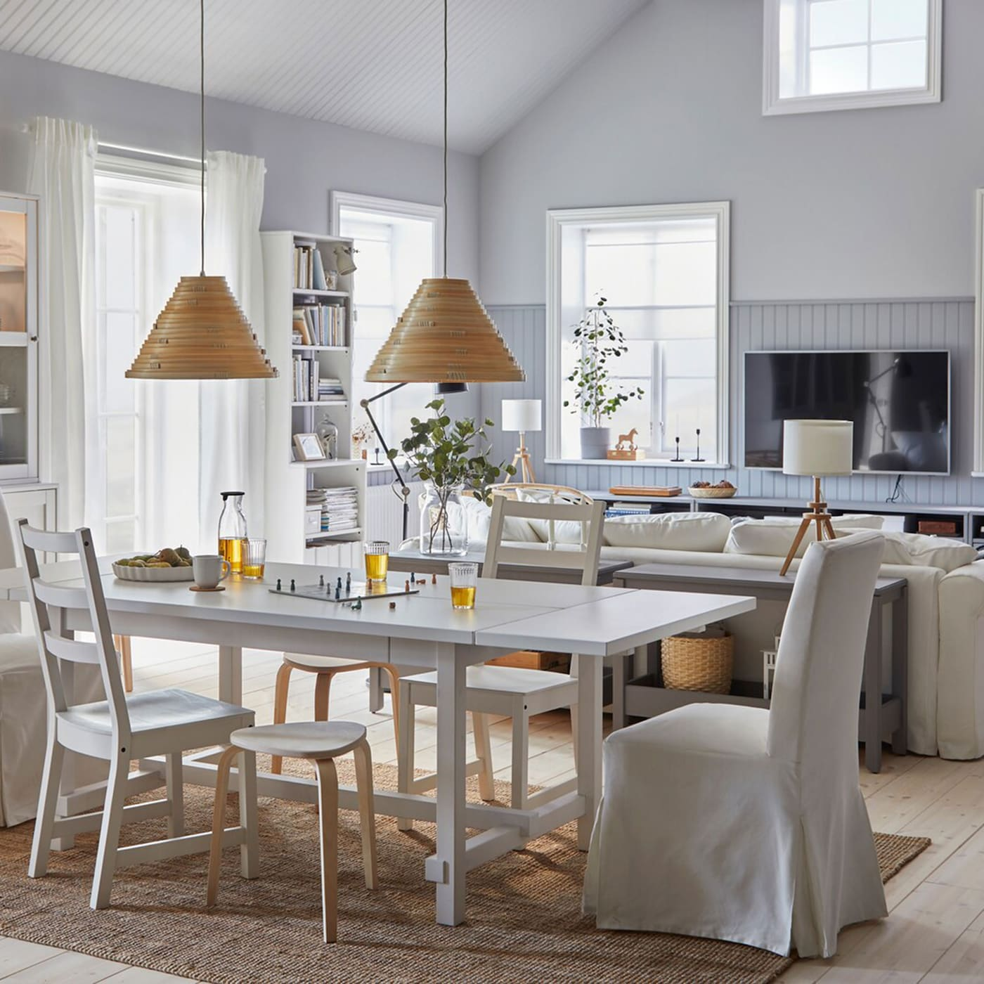 Dining Room Ideas Ikea: A Bright Dining Room Where Dreams Are Shared