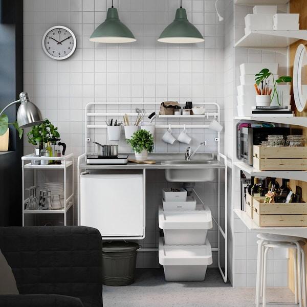 A SUNNERSTA kitchenette