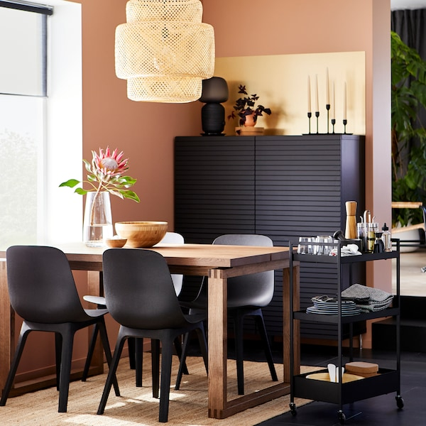 A sustainability-focused dining space