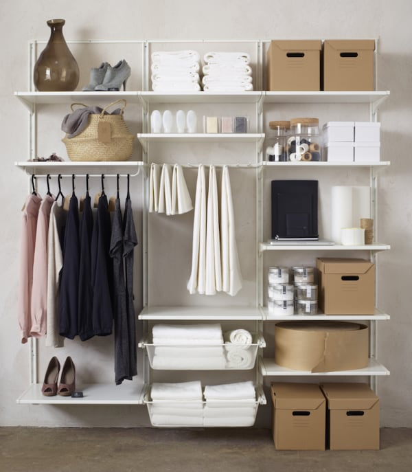 A tidy home — Guide to organising