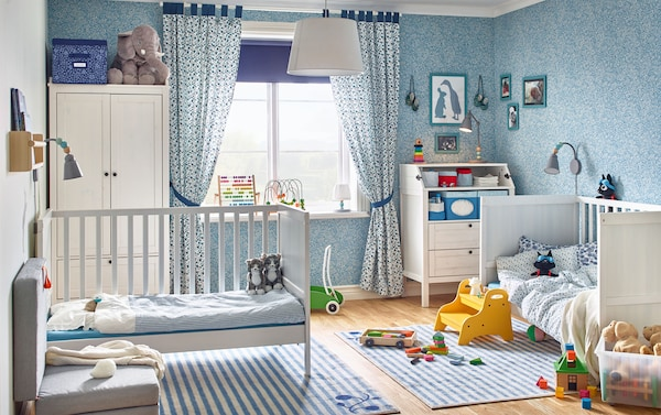 A Tale Of Two Twins Baby Room Inspiration Ikea