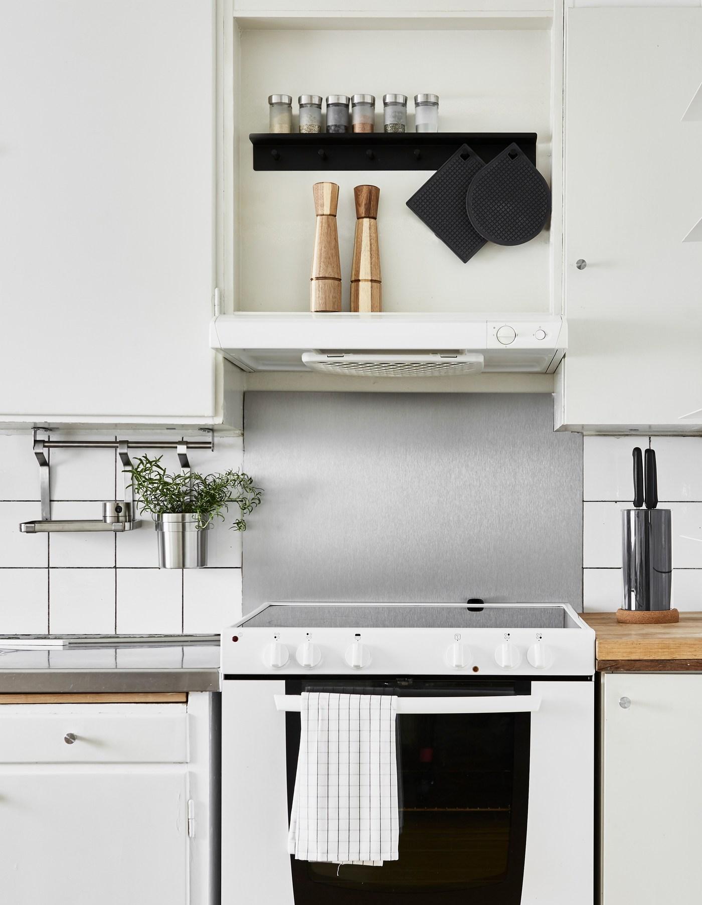 ikea kitchen cabinet rail height