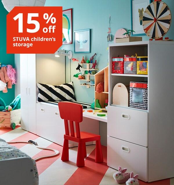 IKEA STUVA childrens storage sale