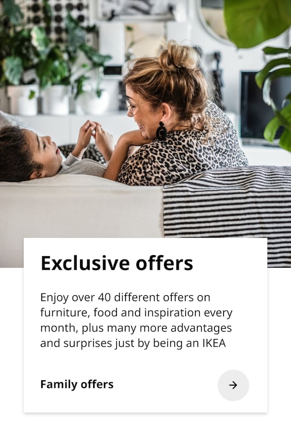 Exclusive Family offers