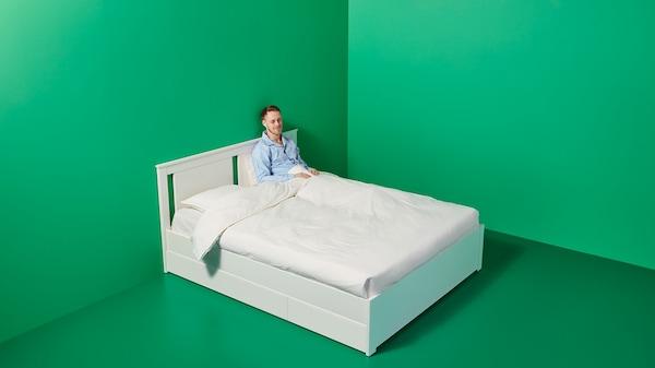 Compleet Bed Incl Matras.Bedden En Matrassen Ikea