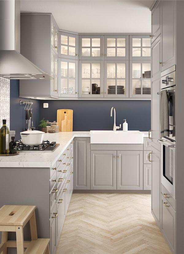 Cucina a L in stile tradizionale | IDEE Cucina - IKEA