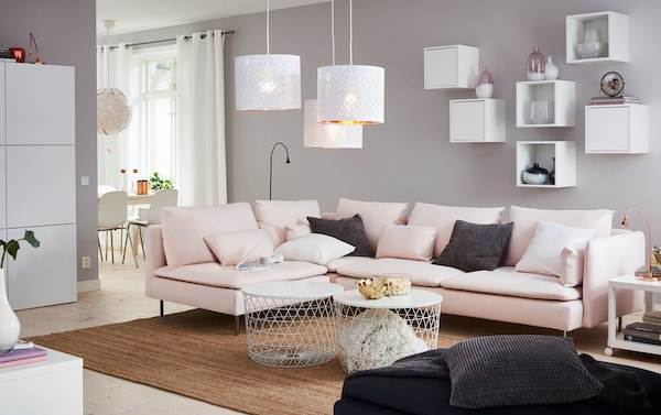A contemporary living room with a contemporary style - IKEA