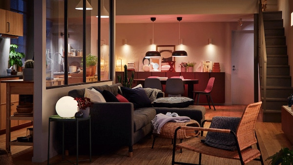 Four ways to set the right mood with LED lights