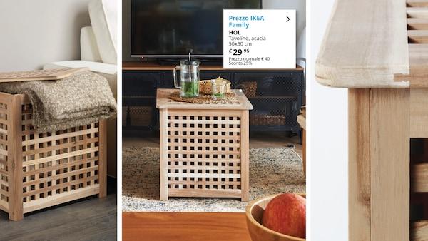 Tavolino, acacia - IKEA