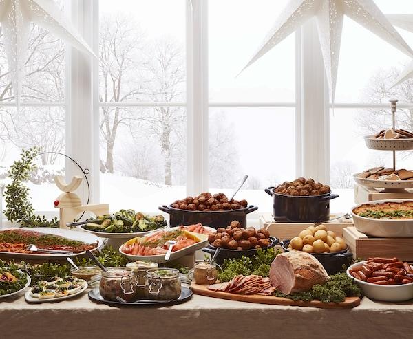 Julbord, buffet di Natale - IKEA
