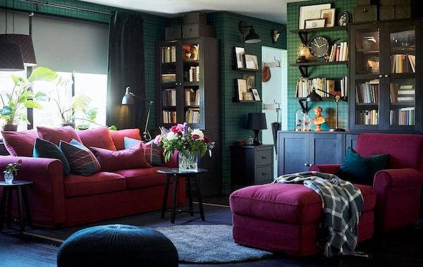 Living room furniture ideas | Sofas, rugs - IKEA