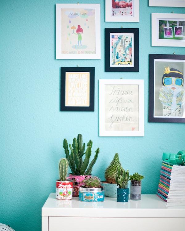 Agrupa las fotos para crear una minigalería.