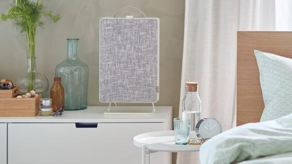احصل على جودة هواء أفضل في المنزل مع جهاز تنقية الهواء FÖRNUFTIG.