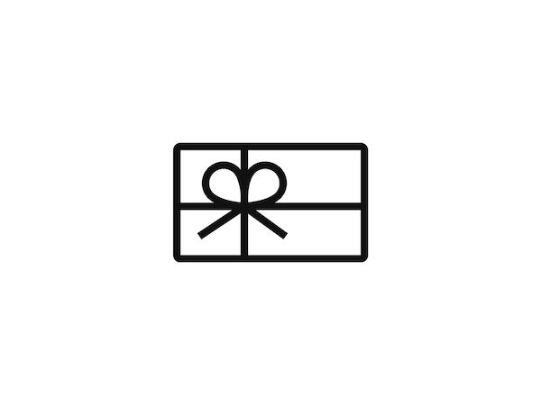 Ajándékkártya ikonja, mely az IKEA utalványait jelképezi.