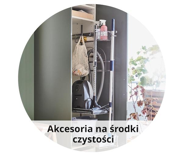 Akcesoria na środki czystości