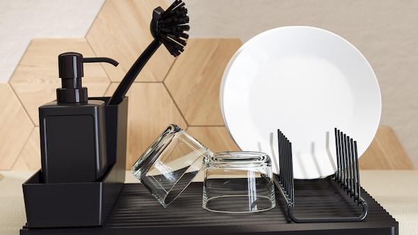 Aksesori pembersihan & membasuh pinggan mangkuk
