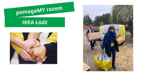 Aktualność - IKEA Łódź wspiera lokalne społeczności - 2021-04-12