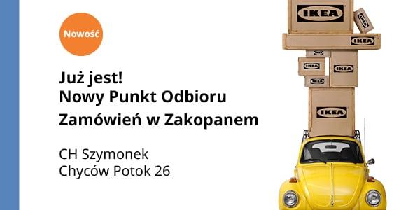 Aktualność - IKEA mobilnie w Zakopanem - 2021-04-08