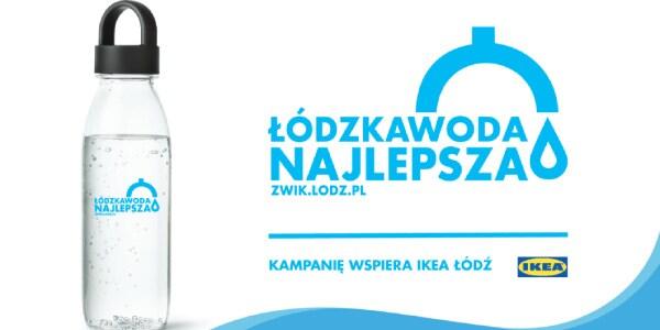 Aktualność - Łódzka Woda Najlepsza- wspólna inicjatywa ZWiK i IKEA Łódź - 2021-03-29