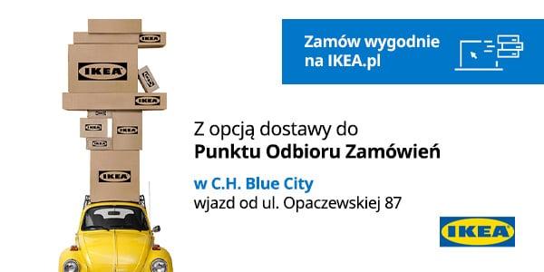 Aktualność - Punkt Odbioru Zamówień w C.H. Blue City w Warszawie.
