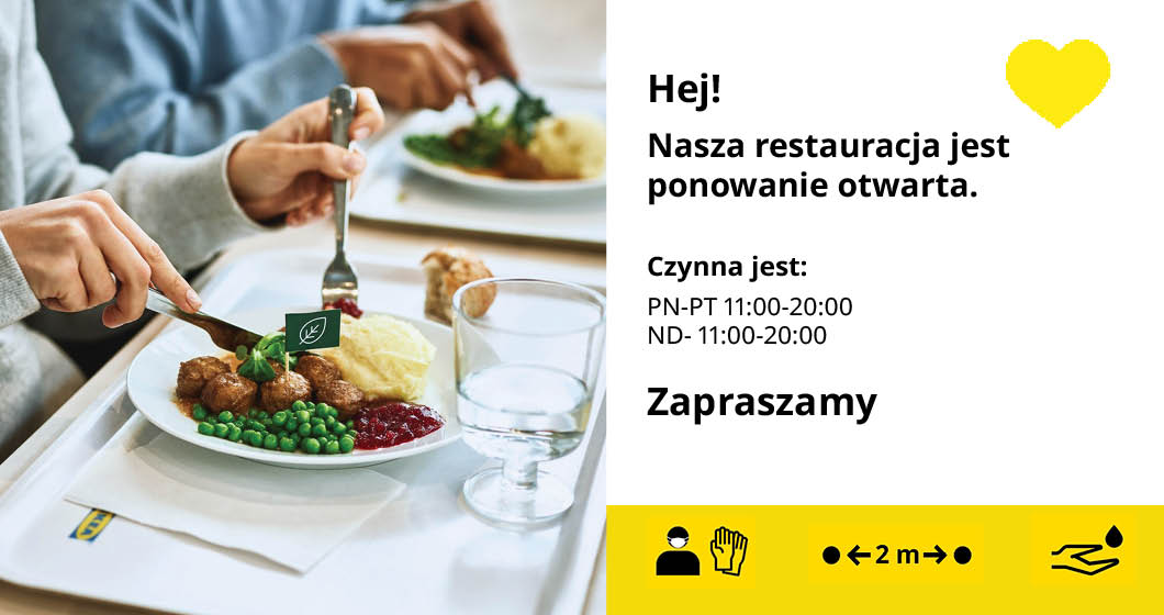 Aktualność - Restauracja ponownie otwarta! - 2021-05-27