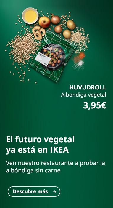 Albóndigas veganas IKEA