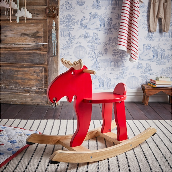 Alce Dondolo Ikea.Una Cameretta Da Sogno Ikea