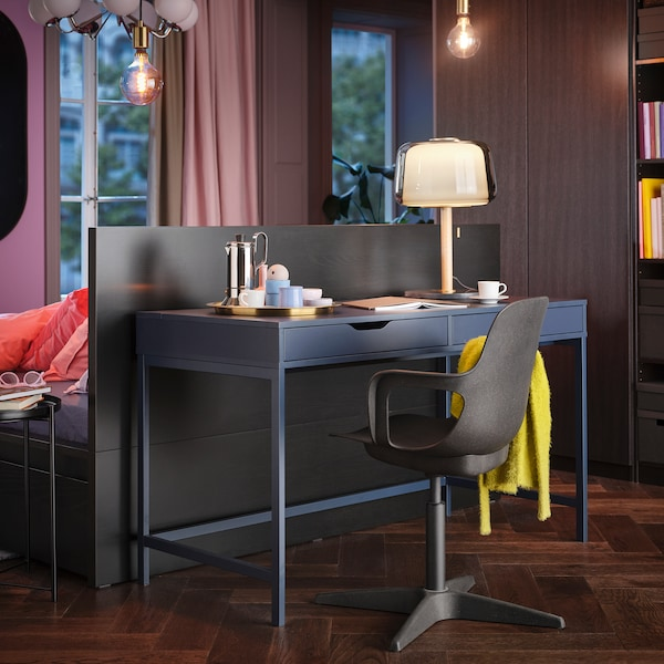 ALEX desk blue