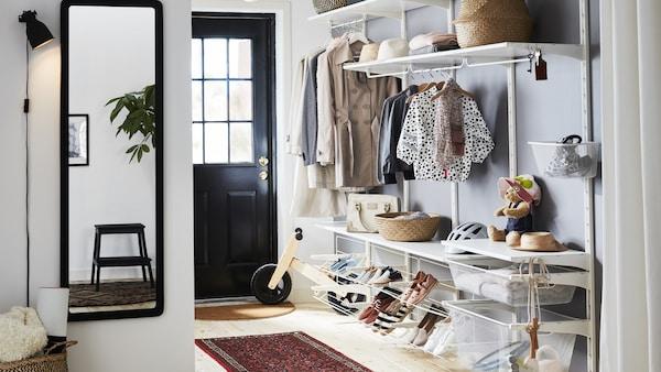 Moderne Entrémøbler - skoskap, knagger, speil, kommoder mm. - IKEA FF-27