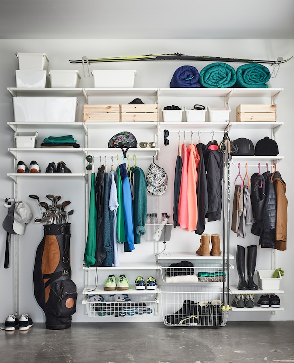 ALGOT storage units are a perfect way to keep your entire family's sports gear organised and ready to go.