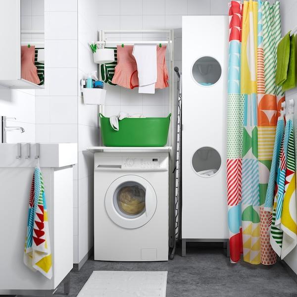 ALGOT system IKEA laundry room linen white colour
