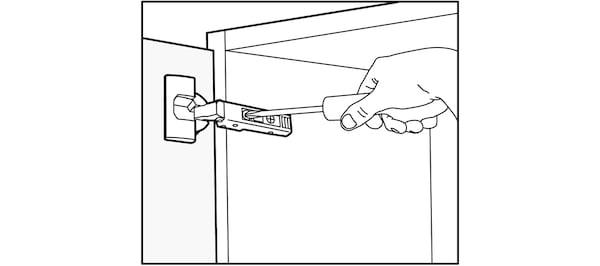 Alignement des portes de cuisine IKEA