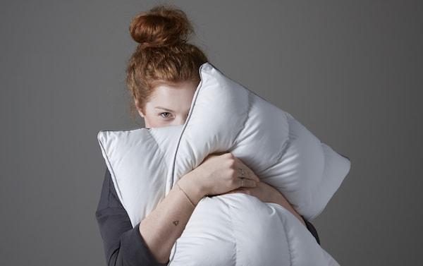 Almohadas colchones IKEA