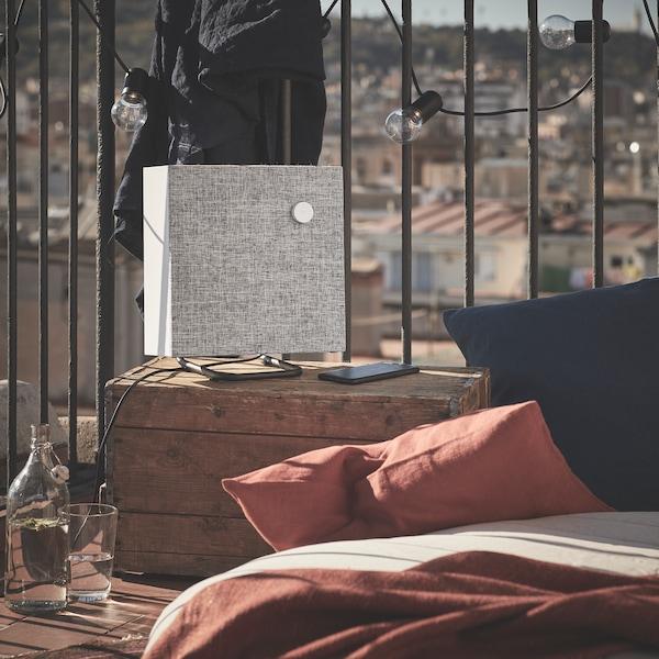 Altavoz Bluetooth para poner música en la terraza