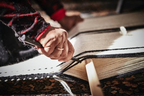 An IKEA designer and craftswoman