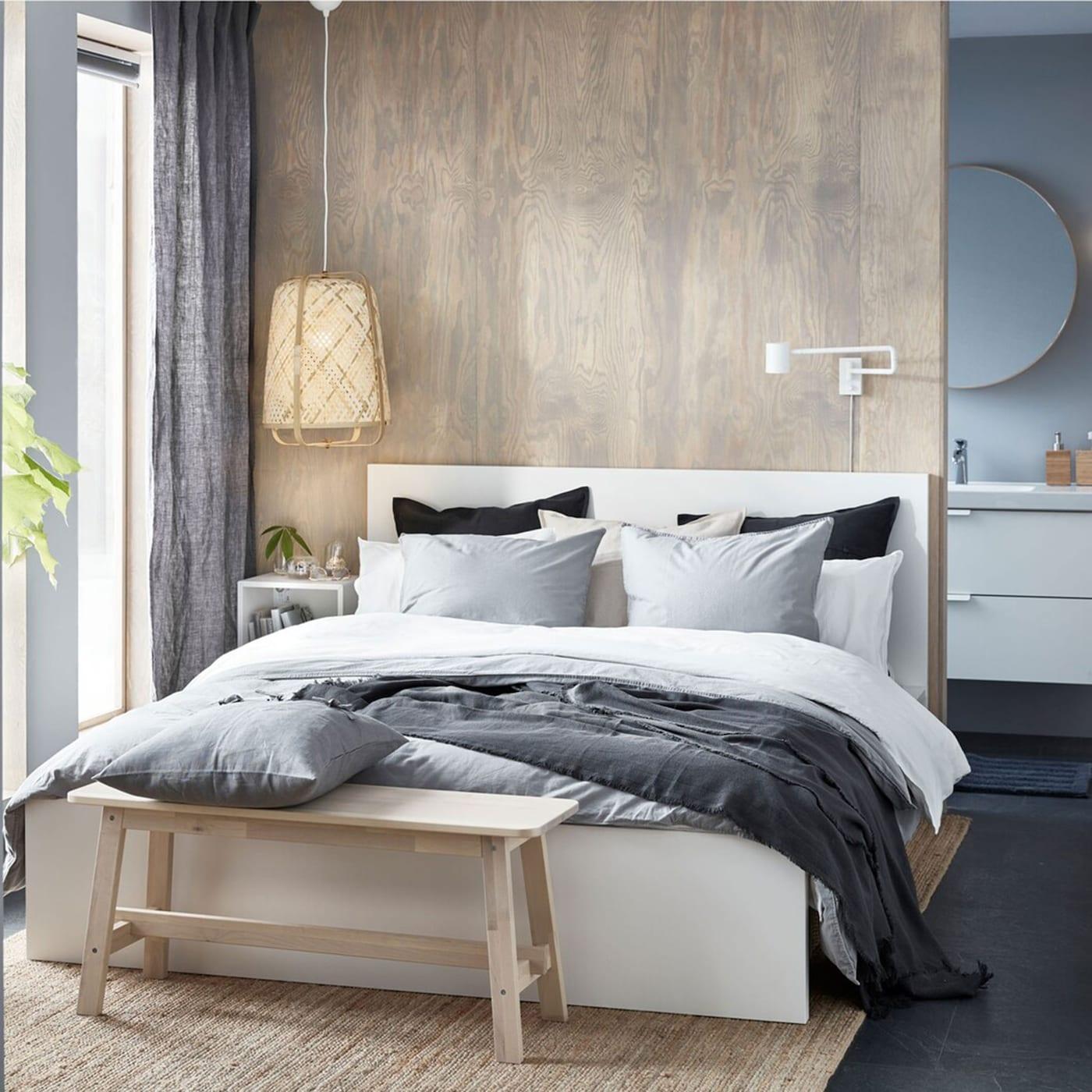 The Stylish Small Bedroom That Feels Like Luxury Ikea Switzerland