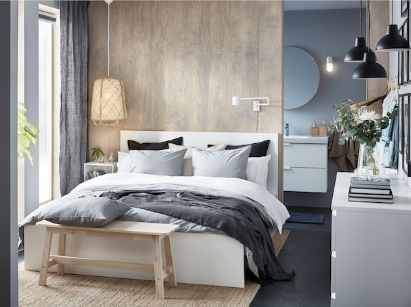 The Stylish Bedroom That Feels Like A Luxury Suite Ikea