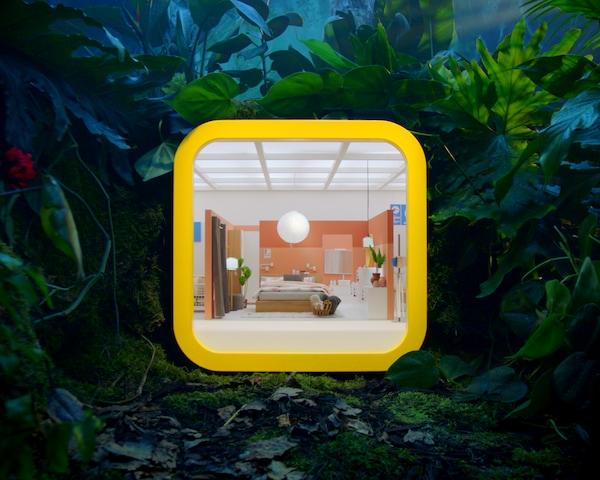 An IKEA store in an app box.