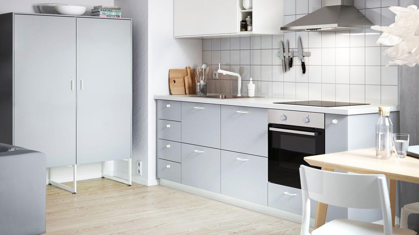 Veddinge Grey Kitchen Ikea